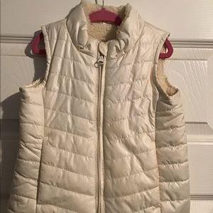 BabyGap Lined Vest, Ivory, 3T